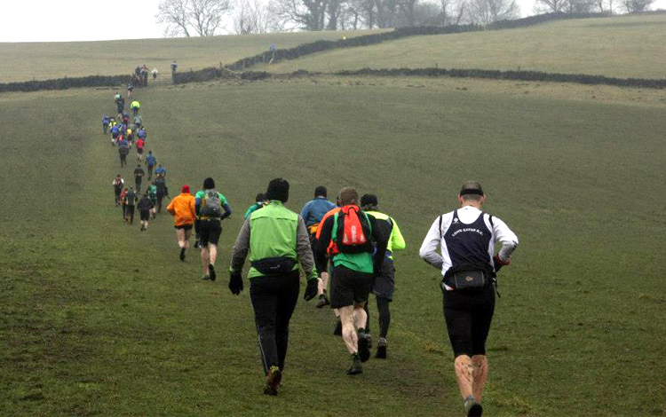 grindleford gallop, running, jogging, peak district, sports massage grindleford