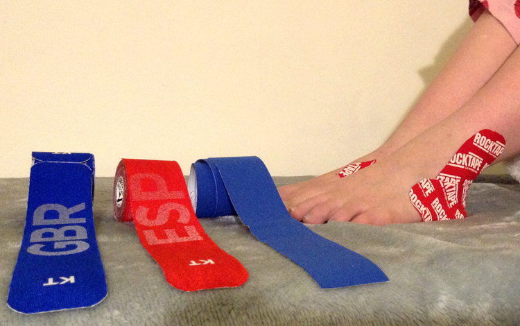 Kinesiology Taping sheffield, sports massage grindleford, hathersage event massage, hope valley sports massage